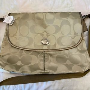 Coach messenger crossbody bag.